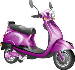 image of e-scooter bike)