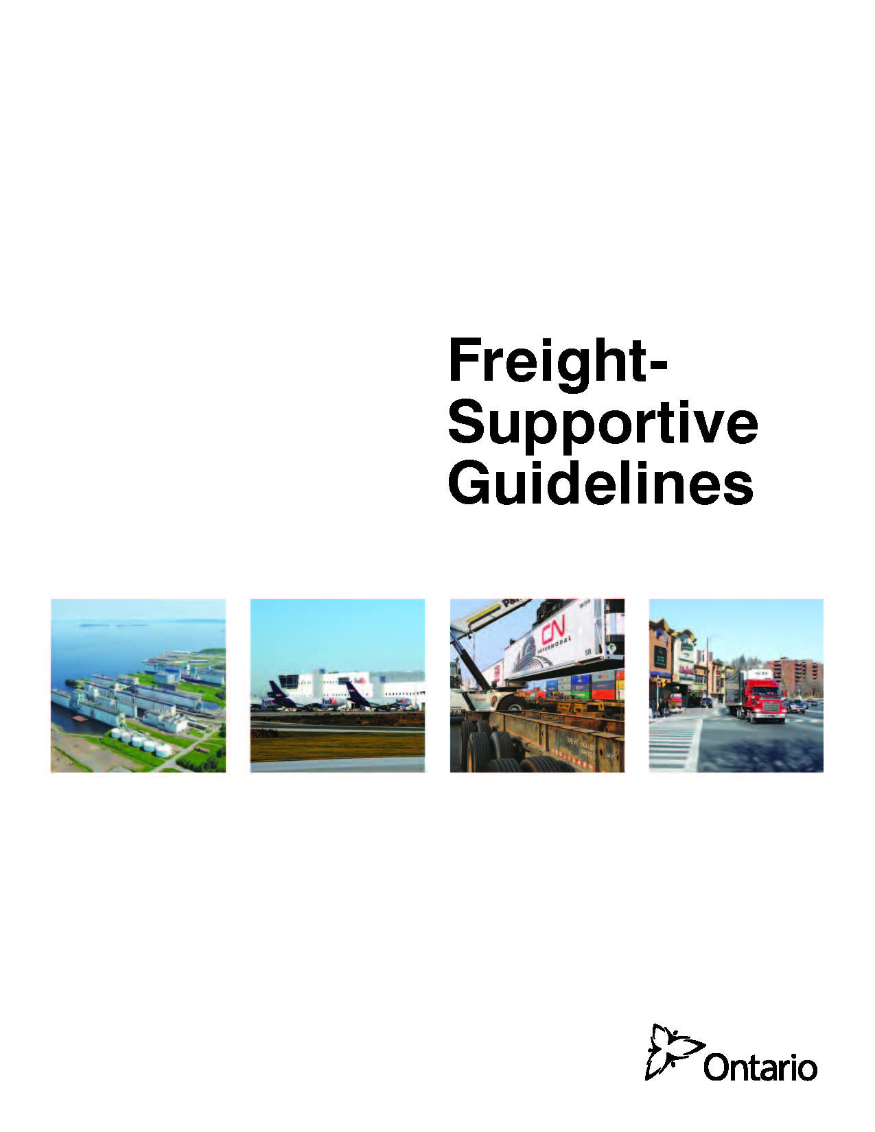 Freight-Supportive Guidelines cover