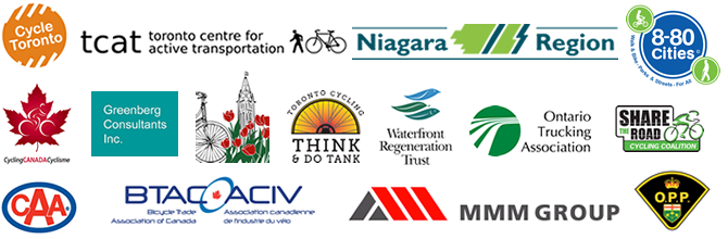 cycling strategy stakeholder logos