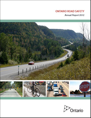 Ontario Road Safety Annual Report - 2012