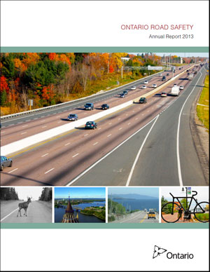 Ontario Road Safety Annual Report - 2013