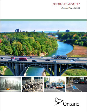 Ontario Road Safety Annual Report - 2014