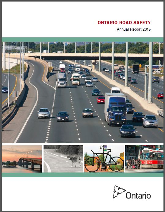 Ontario Road Safety Annual Reports