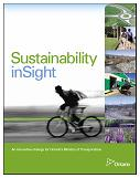 Sustainability insight report cover page