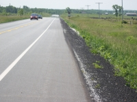 Highway 6, Paved Shoulders, Mar to Tobermory area