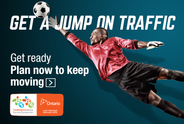 Get a jump on traffic, Get ready, Plan now to keep moving