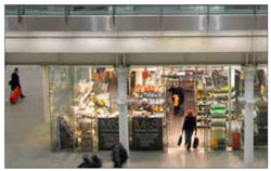 Convenience retail at stations can enable commuters to make quick purchases before and after their journey.