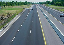 Photo of Highway 401 at Gananoque