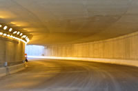 Photo of tunnel on Highway 404