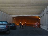 Photo of tunnel entrance