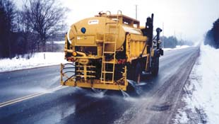 Photo of winter maintenance truck