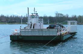 Photo of Howe Island-County ferry