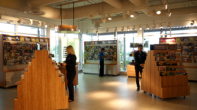 Tilburry South tourist information service centre