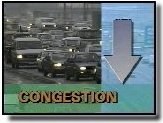 Reduced congestion
