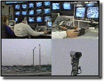 Photo of COMPASS cameras and televisions