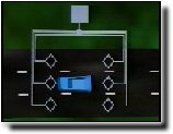 Photo of vehicle detector video display