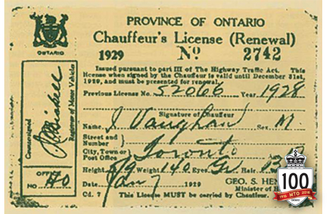 How To Read An Ontario Driver License Number